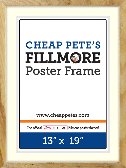 17x23 SOMA Fillmore Slim - Natural | Cheap Pete\'s Frame Factory Outlet