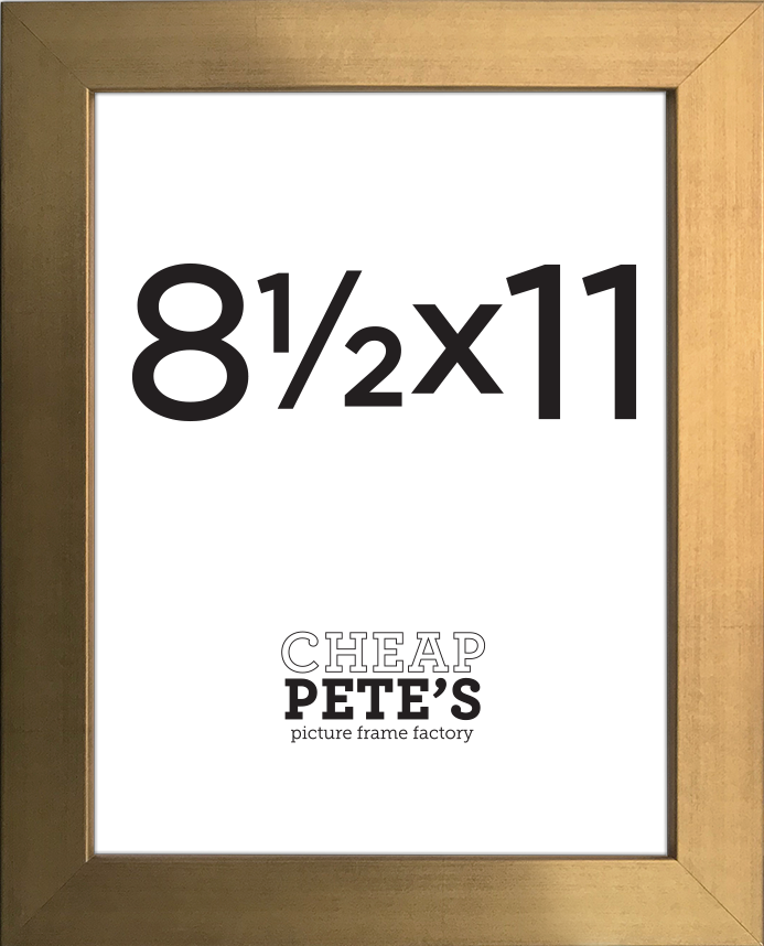 8.5x11 Presidio Frame | Cheap Pete\'s Frame Factory Outlet