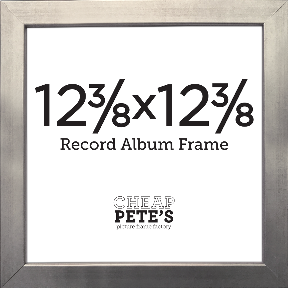 12-3/8x12-3/8 Presidio Record Album Frame - Gold, Silver or Steel ...