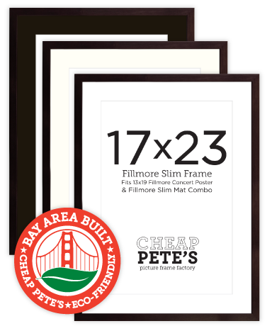 17x23 Lombard Fillmore Slim Frame - Espresso | Cheap Pete\'s Frame ...