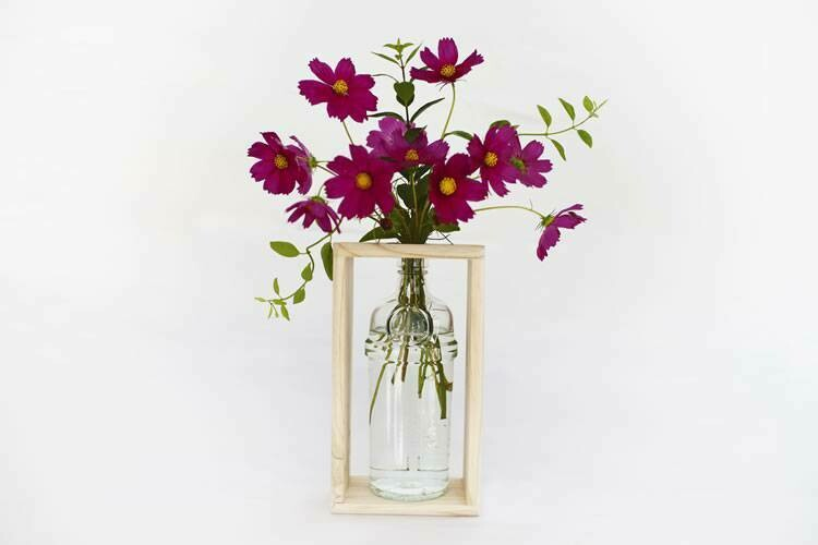 Gin Bottle Vase