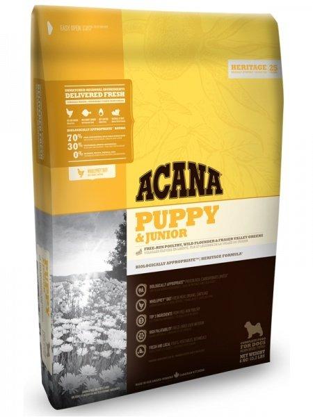 Корм для щенков Acana Puppy & Junior