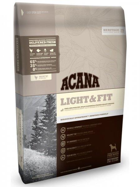 Корм для собак Acana Light & Fit