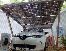 Solar Carports and Patio Shading