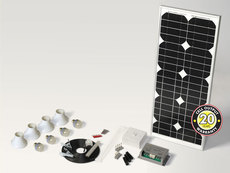 SolarMate 3 LED Lighting Kit