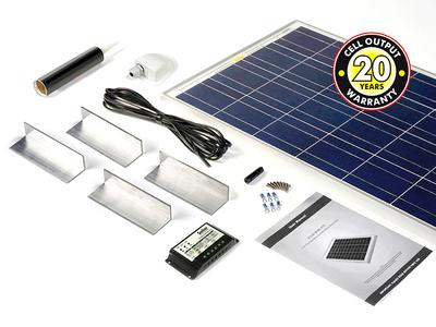 100-watt Solar Rooftop Kit