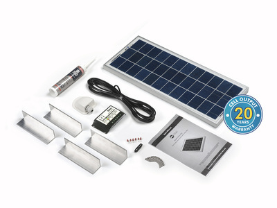 20 Watt Solar Rooftop Kit
