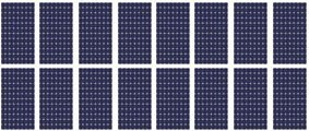 4kW Domestic Solar Panel Kit