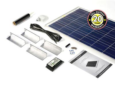 80 Watt Solar Rooftop Kit