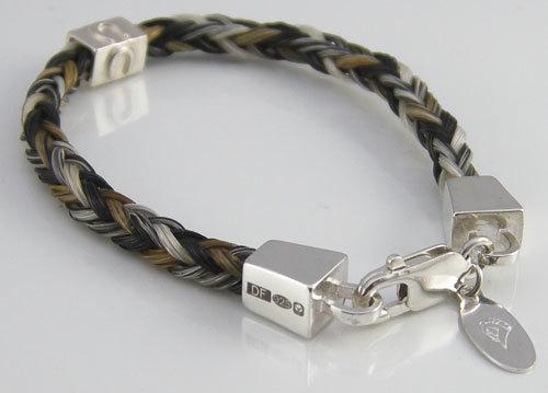a5c386cfca222 Farriers Nails - Square Braided Bracelet