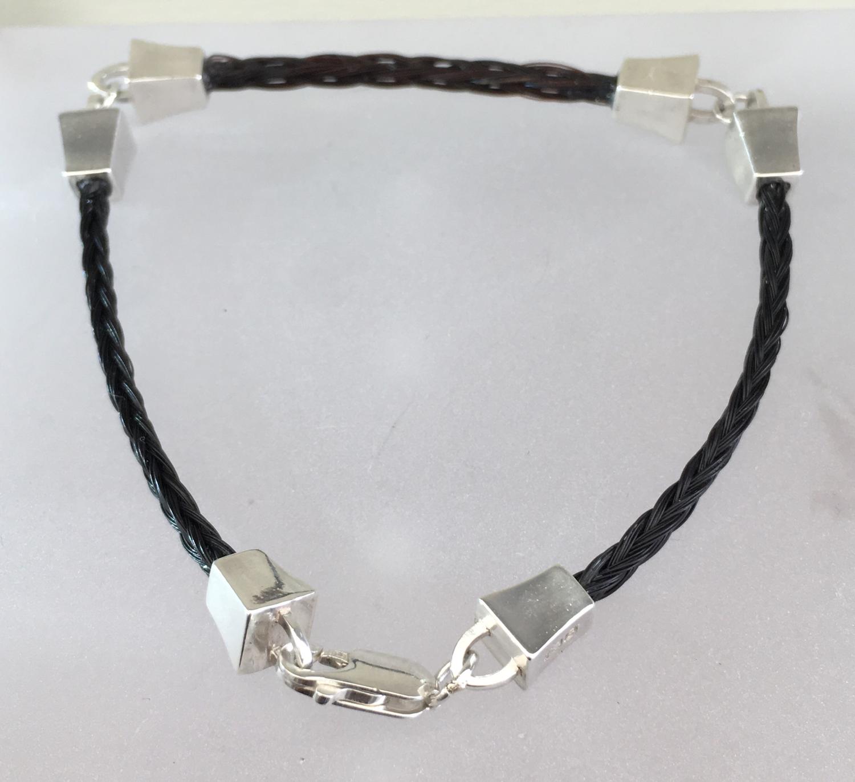984ff65b6f3fe Farriers Nails - 3 part fine bracelet