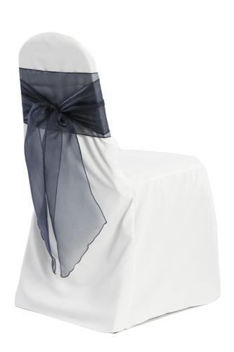 White Banquet Chair Covers - B#1 00017