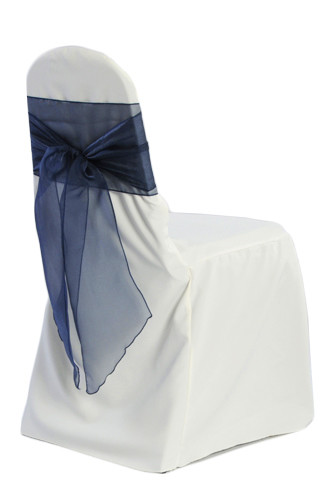 Ivory Banquet Chair Covers - B#1