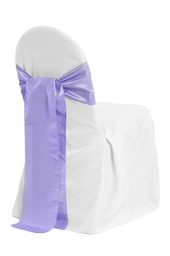 White Banquet Chair Covers - B#3 White Banquet Chair Covers - B03