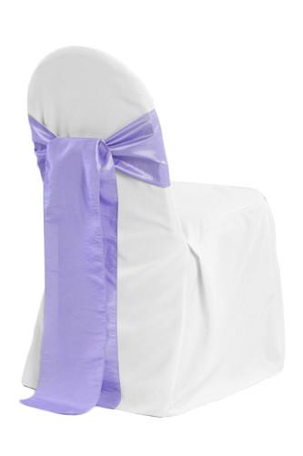 White Banquet Chair Cover Rentals - B#3