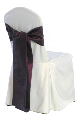 Ivory Banquet Chair Covers - 2/Pleat Ivory Banquet Chair Covers - 2/Pleat