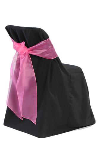 Black Folding Chair Covers 00020