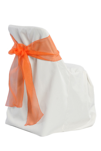 White Folding Chair Covers 00019