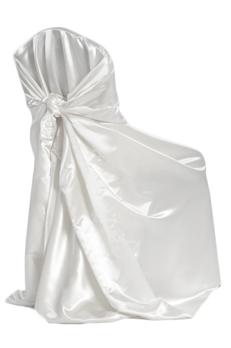 White Universal Chair Covers White Universal Chair Covers