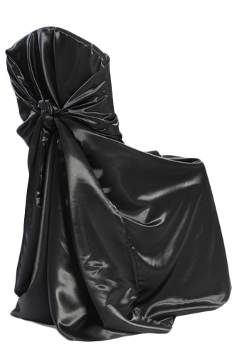 Black Universal Chair Cover Black Universal Chair Cover