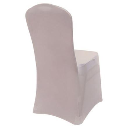 Blush Spandex Chair Cover Rentals