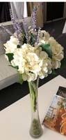 Hydrangea Artificial Floral Centerpiece Rentals