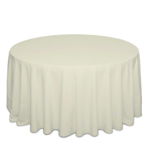 Ivory Cottoneze Tablecloth Rentals