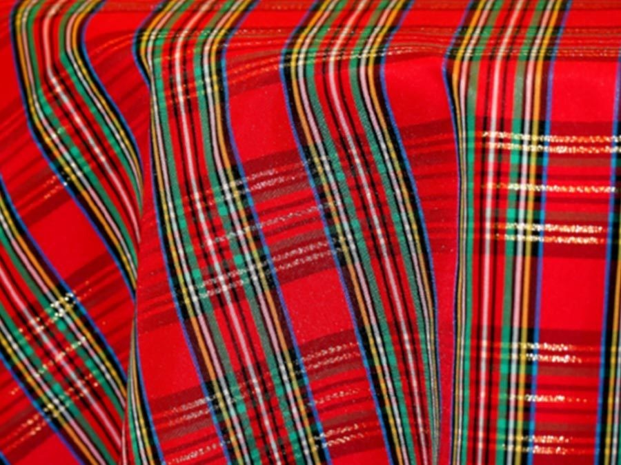 Plaid Holiday Tablecloths Rentals