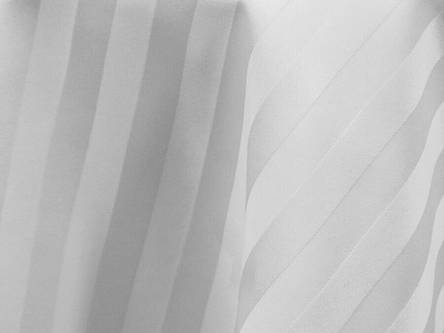 Satin Stripe Tablecloth Rentals