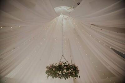 Italian Lighting Rentals - Glen Oaks Country Club, Des Moines