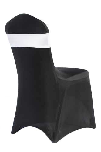 White Spandex Chair Band Rental