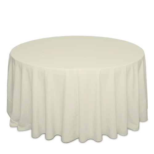 Ivory Tablecloths Ivory Solid Polyester Table Cloth Rental