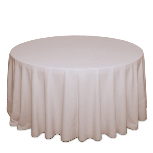Beige Tablecloths Beige Solid Polyester Table Cloth Rental