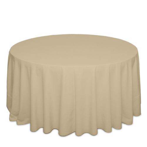 Camel Tablecloths Camel Solid Polyester Tablecloth Rentals
