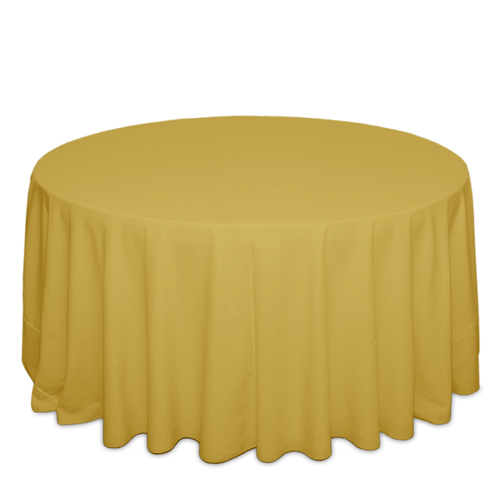 Gold Tablecloths Gold Solid Polyester Tablecloth Rentals
