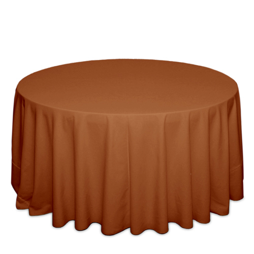 Burnt Orange Tablecloths Burnt Orange Solid Polyester Tablecloth Rentals