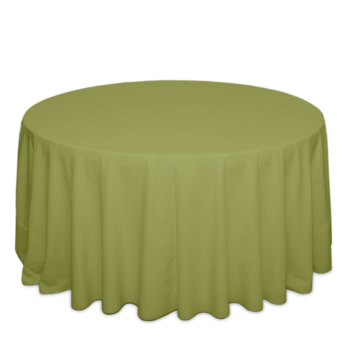 Light Olive Tablecloths Light Olive Solid Polyester Tablecloth Rentals