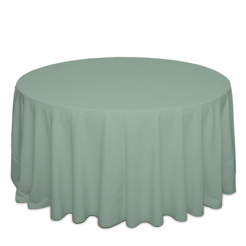 Seamist Tablecloths Seamist Solid Polyester Tablecloth Rentals