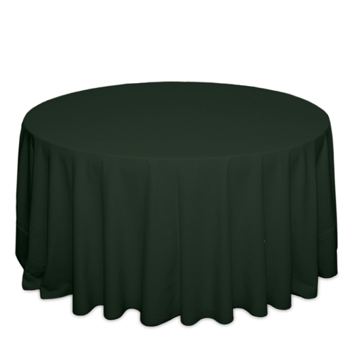 Forest Green Tablecloths Forest Green Solid Polyester Tablecloth Rentals