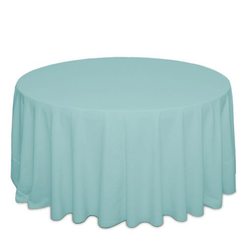 Aqua Tablecloths Aqua Solid Polyester Tablecloth Rental