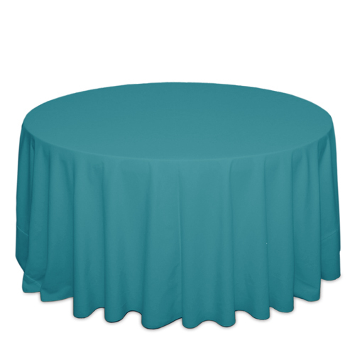 Turquoise Tablecloths Turquoise Solid Polyester Tablecloth Rentals