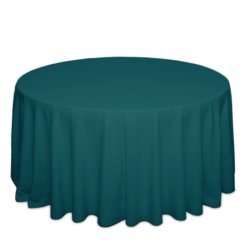 Teal Tablecloths Teal Solid Polyester Tablecloth Rentals