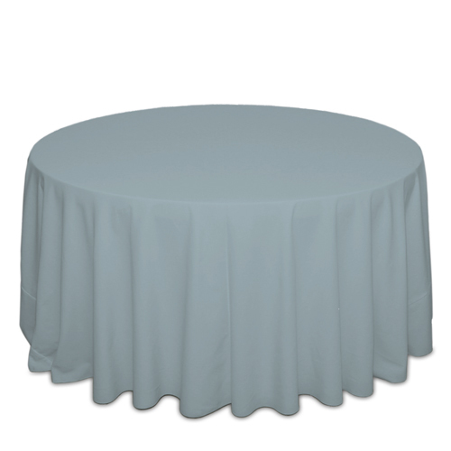 Slate Tablecloths Slate Solid Polyester Tablecloth Rentals