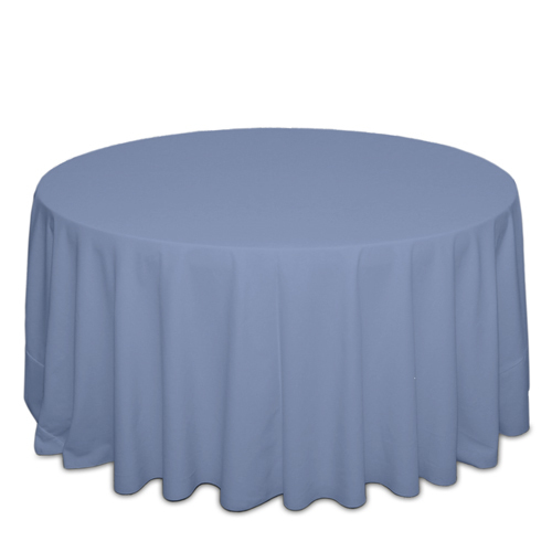 Periwinkle Tablecloths Periwinkle Solid Polyester Tablecloth Rentals