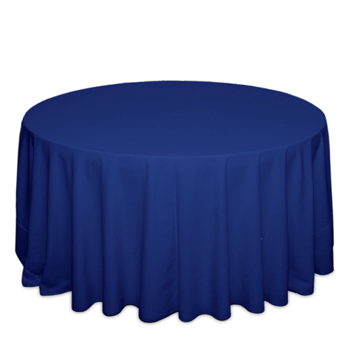 Royal Blue Tablecloths Royal Blue Solid Polyester Tablecloth Rentals