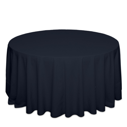 Navy Tablecloths Navy Solid Polyester Tablecloth Rentals