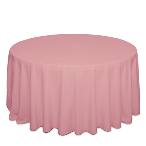Pink Tablecloths Pink Solid Polyester Tablecloth Rentals