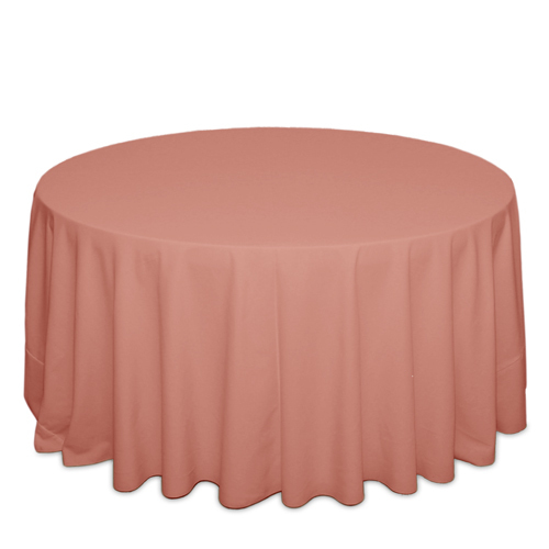 Dusty Rose Tablecloths Dusty Rose Polyester Tablecloth Rentals