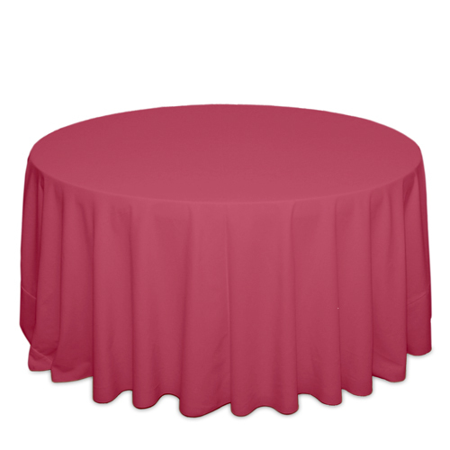 Fuchsia Tablecloths Fuchsia Solid Polyester Tablecloth Rentals