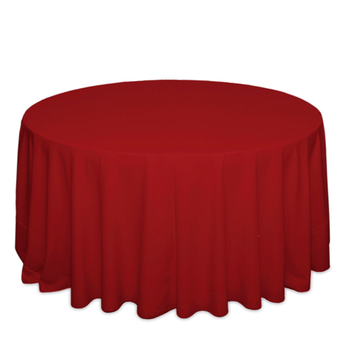 Red Tablecloths Red Tablecloths